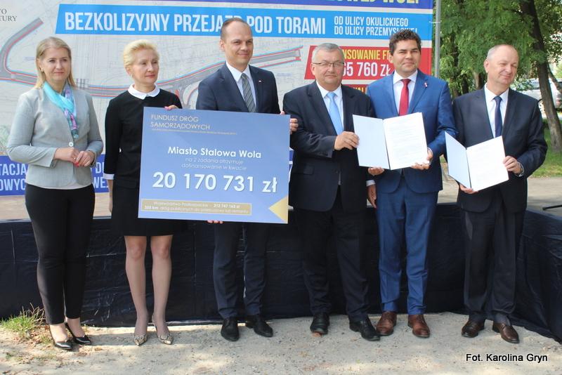 Stalowa Wola: 20 milionów złotych na budowę łącznika ulicy Okulickiego z Przemysłową