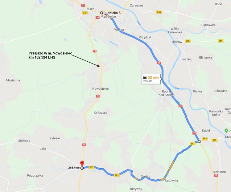 Zamkną drogę krajową w Nowosielcu