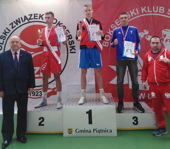Tobiasz Zarzeczny mistrzem Polski!