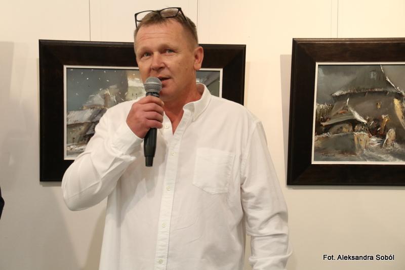 Wystawa malarstwa Jacka Kośmińskiego