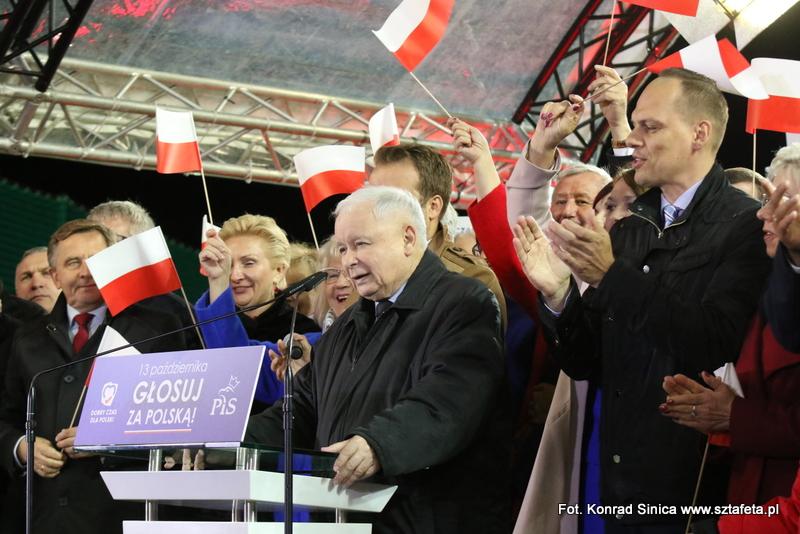 Kaczyński i Szydło w Stalowej Woli (ZDJĘCIA)