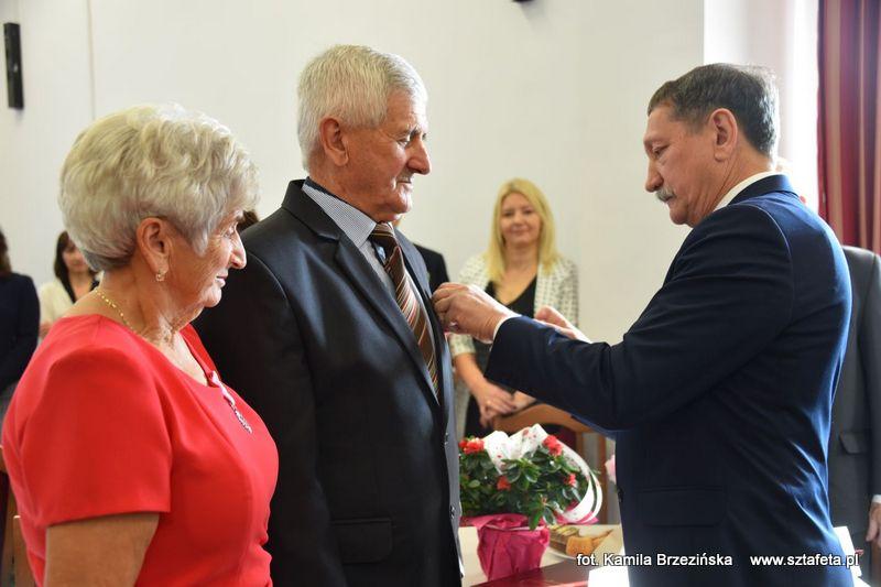 Małżeństwa z gminy Jarocin świętowały złote gody