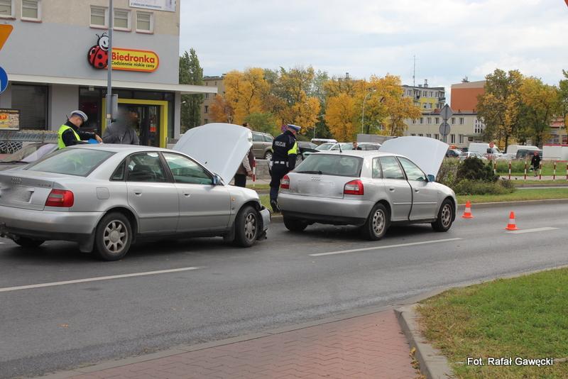 Kolizja na ulicy Okulickiego