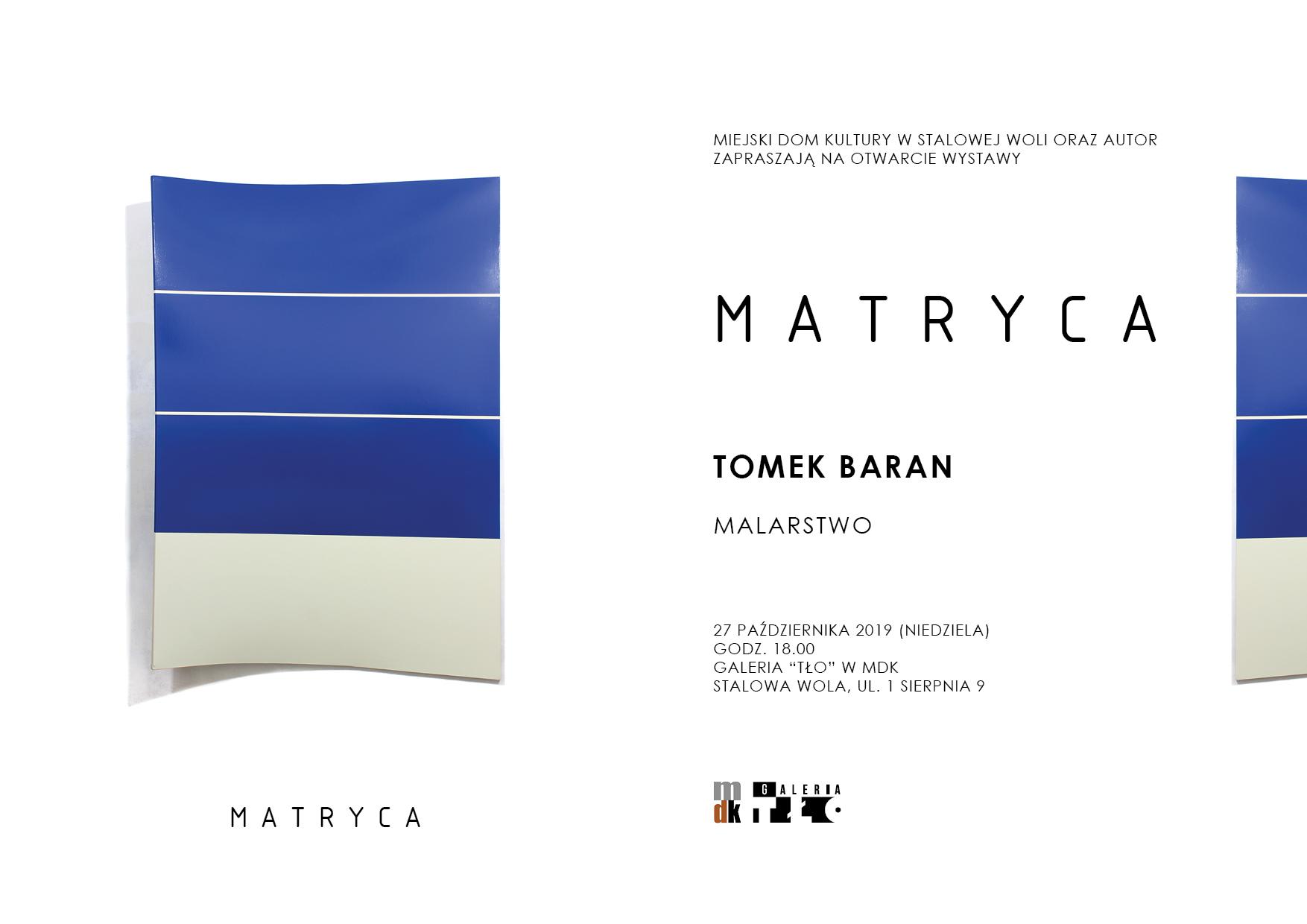 """""""Matryca"""" - nowa wystawa w MDK"""