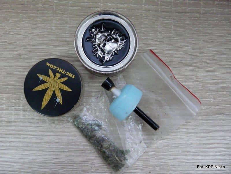 Nisko: 16-latek zatrzymany z narkotykami