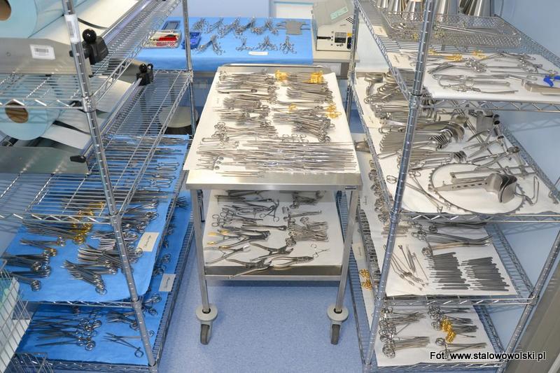 Stalowowolski szpital ma nowe wyposażenie bloku operacyjnego