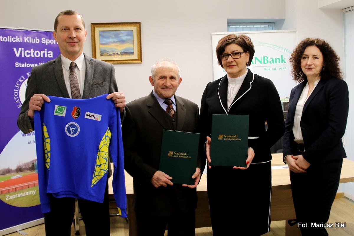Nadsański Bank Spółdzielczy pomagał i nadal będzie pomagać Victorii