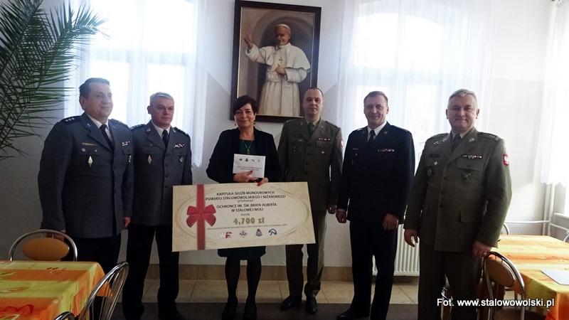 Stalowa Wola: Służby mundurowe wsparły Ochronkę