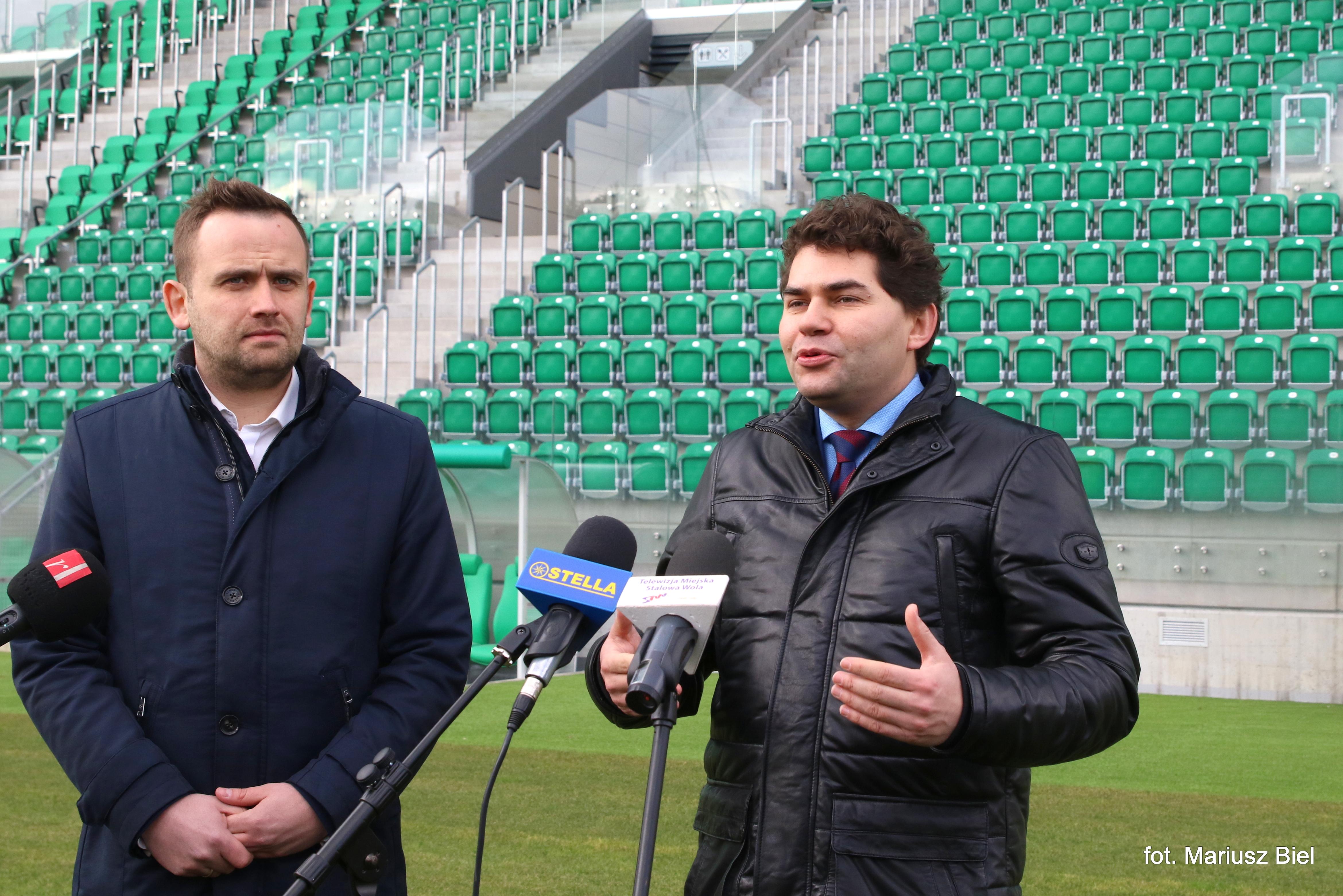 Mateusz Nowak dyrektorem Podkarpackiego Centrum Piłki Nożnej w Stalowej Woli