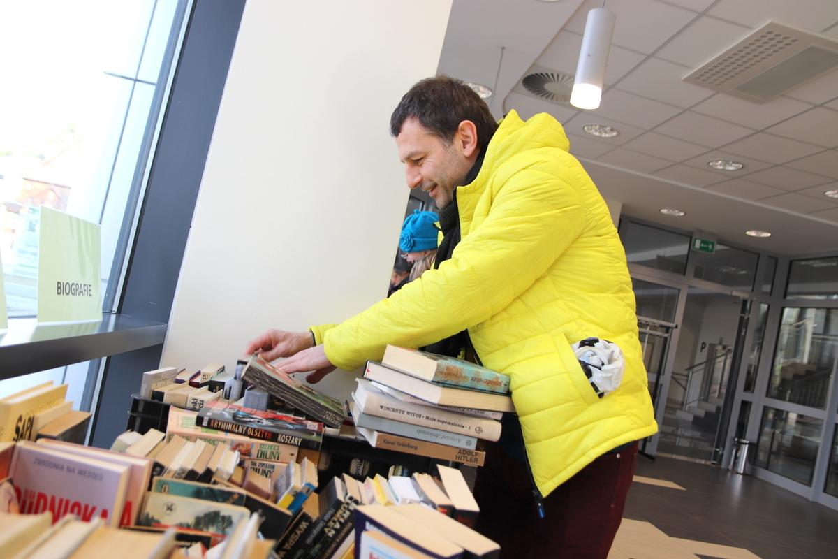Stalowowolska biblioteka zaprasza na kolejny kiermasz książkowy