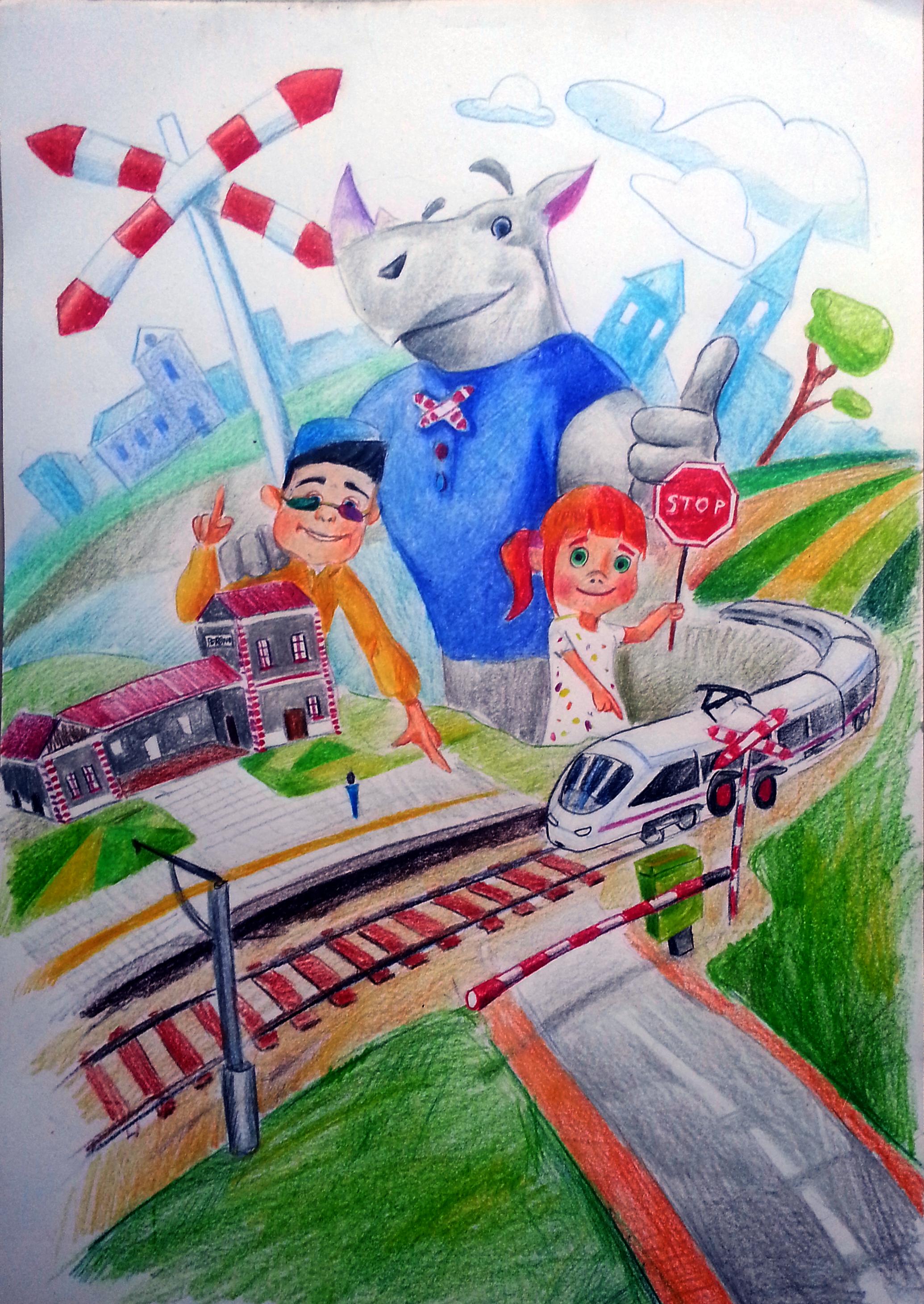 Na podstawie pracy uczniów z Nowej Sarzyny powstanie kolejowy mural