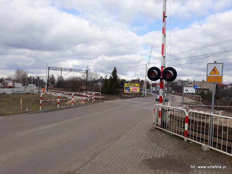 Przejazd kolejowy u zbiegu ulic Klasztornej i Przemysłowej zostanie zamknięty