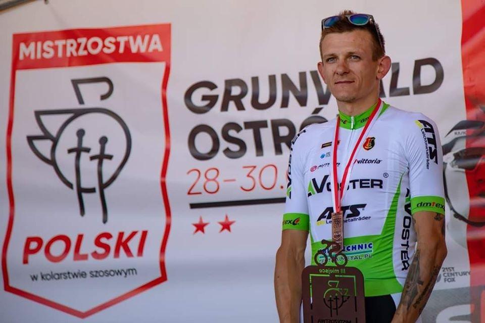Mateusz Taciak - kolarz Vostera ATS zakończył karierę sportową