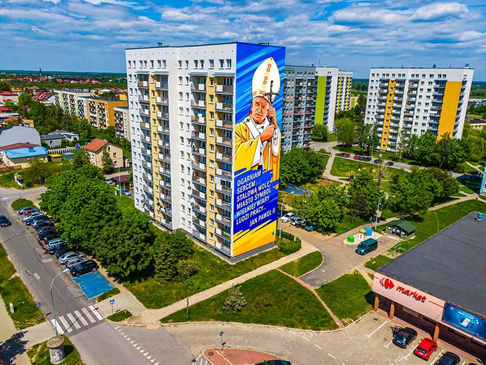 W Stalowej Woli powstanie mural św. Jana Pawła II