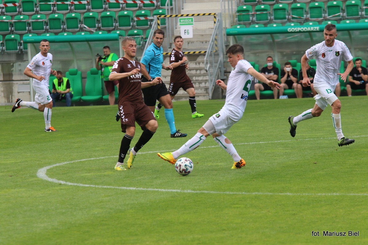II liga. Stal Stalowa Wola - Garbarnia Kraków 0:2 (0:2)