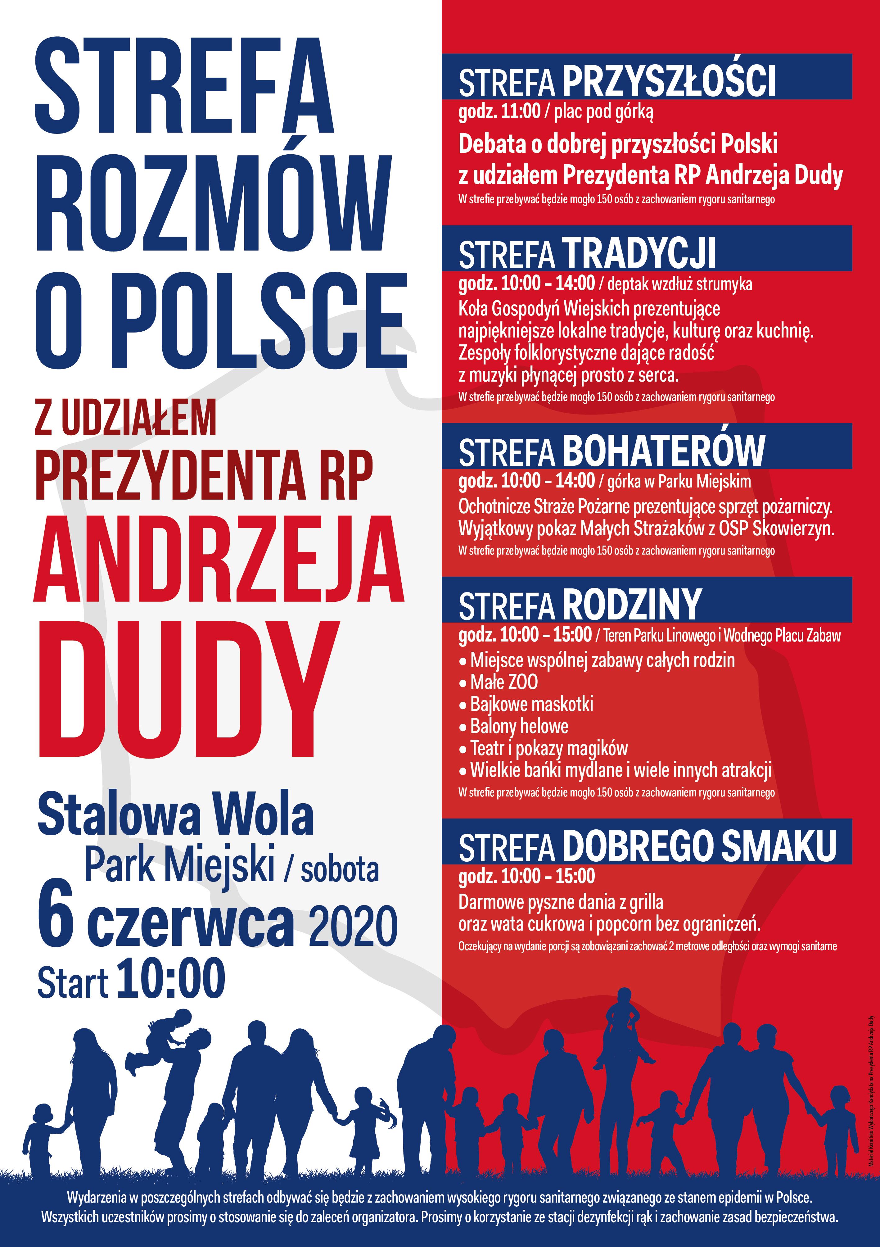 Prezydent Andrzej Duda w Stalowej Woli