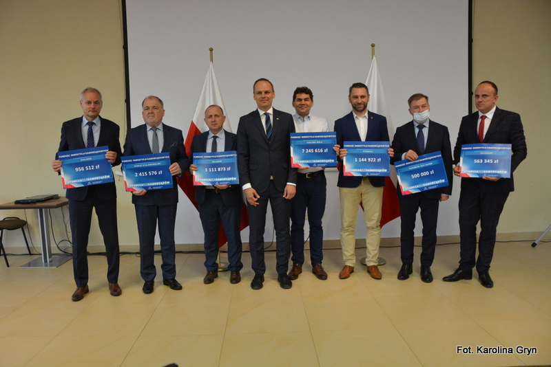 Powiat stalowowolski: Rządowe wsparcie na cele inwestycyjne
