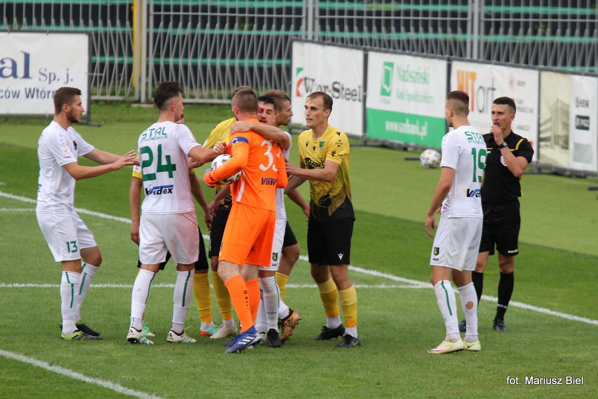 II liga. Stal Stalowa WEola - GKS Katowice 2:0 (2:0)
