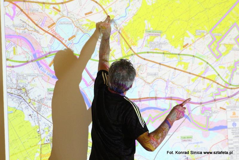 Spór o ekspresówkę w Pysznicy. Zobacz mapy S74
