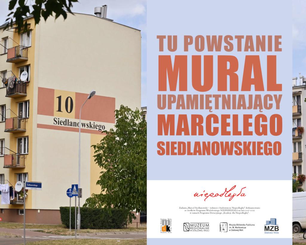 Stalowa Wola: Powstanie mural Marcelego Siedlanowskiego