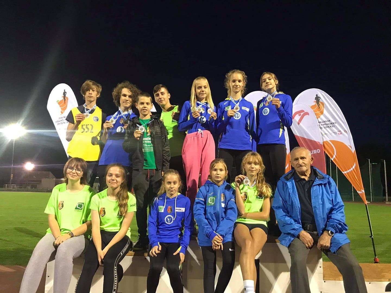 14 medali lekkoatletów Victorii i Sparty na zawodach w Przemyślu