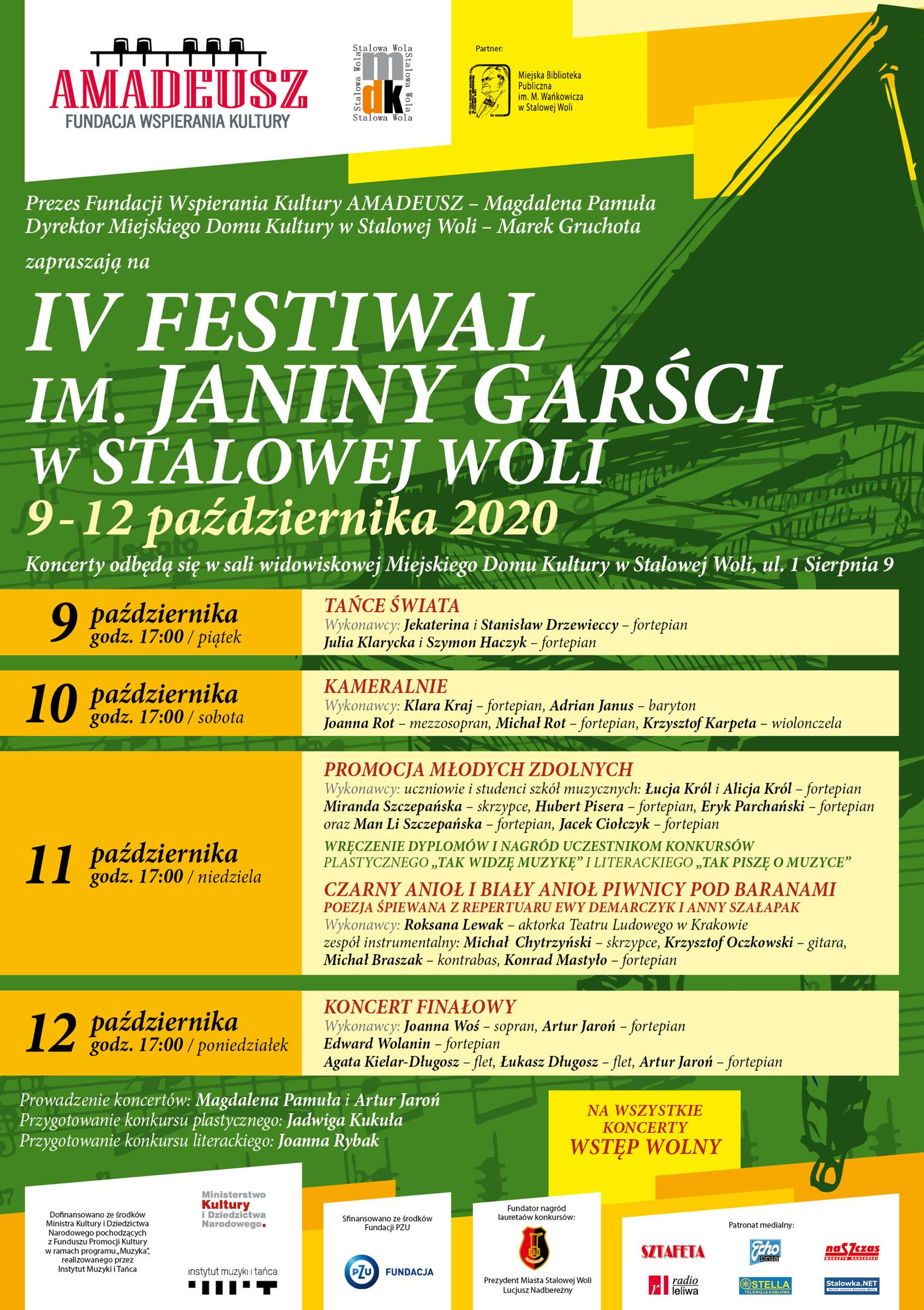 IV Festiwal im. Janiny Garści w Stalowej Woli