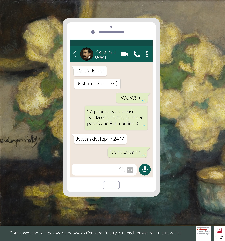 Wybierz się na wirtualny spacer po Galerii Malarstwa Alfonsa Karpińskiego