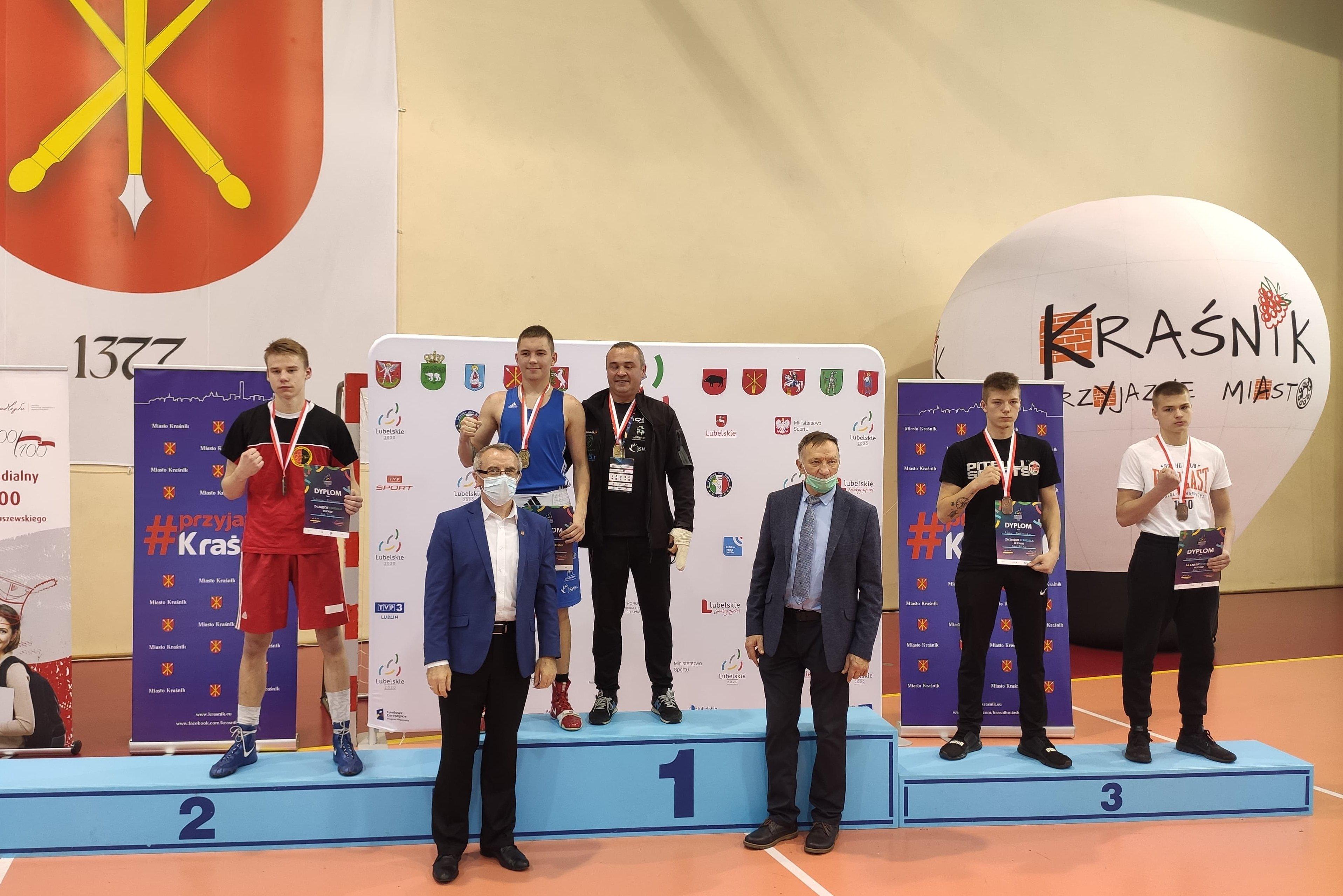 Tobiasz Zarzeczny srebrnym medalistą mistrzostw Polski