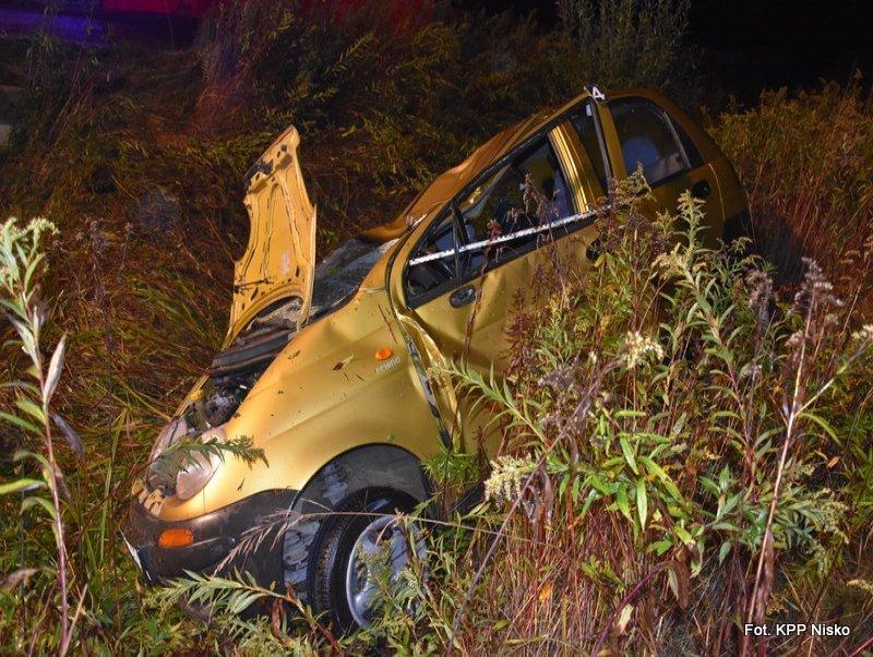 Pijany 69-letni kierowca spowodował wypadek. Jego pasażer zginął na miejscu