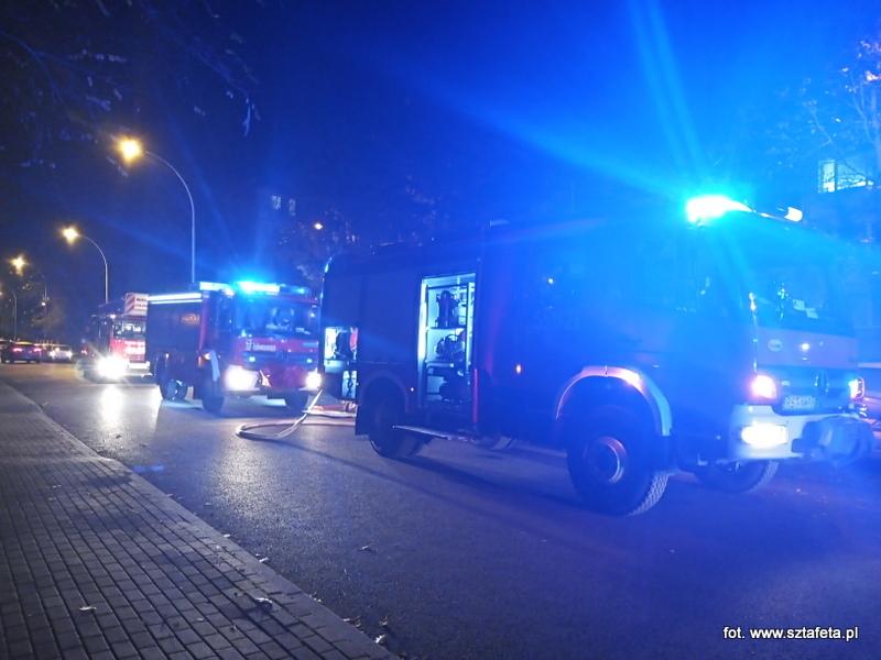 Pożar w mieszkaniu na Obrońców Westerplatte