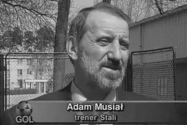 Nie żyje Adam Musiał, legendarny piłkarz i były trener Stali Stalowa Wola