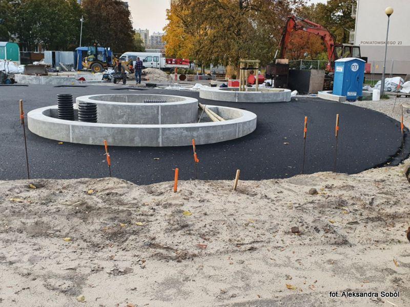 Podwórko dla Pława ma być gotowe na koniec grudnia