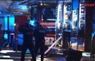Pożar kamienicy w Nisku. Policjanci zapobiegli tragedii