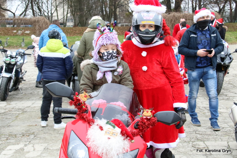 Banda Świętego Mikołaja w Stalowej Woli
