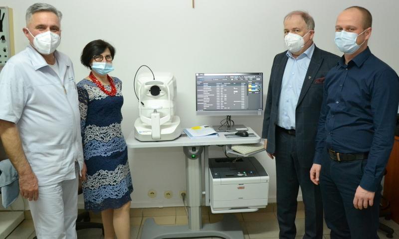 Nowy sprzęt na Oddziale Okulistycznym w stalowowolskiej lecznicy