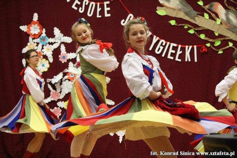 Powiatowy przegląd taneczny w Chwałowicach
