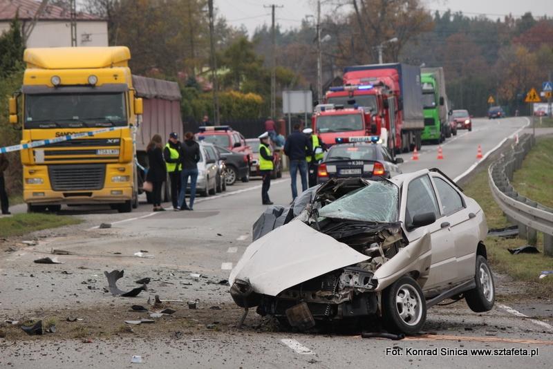 Śmiertelny wypadek w Wolinie