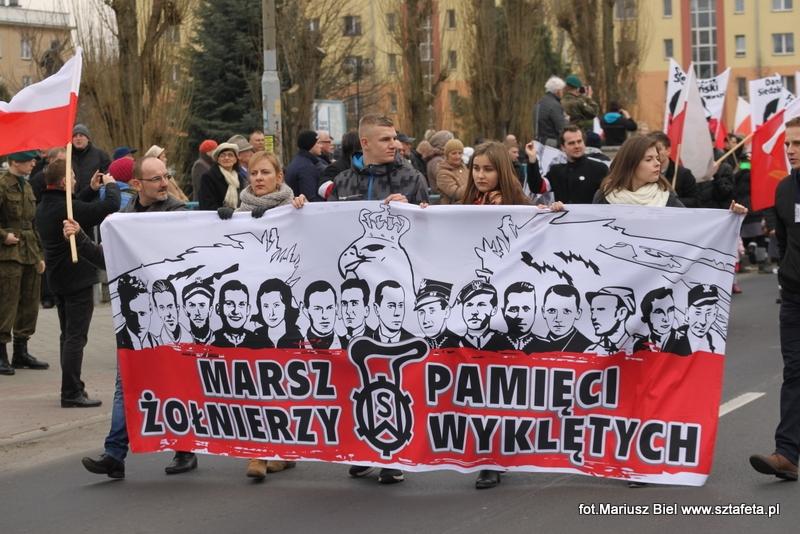 Marsz Żołnierzy Wyklętych cz. 1